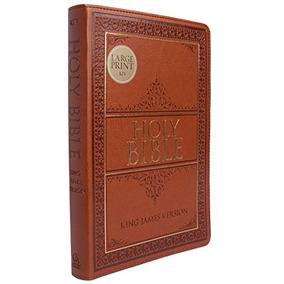 Livro Holy Bible: Kjv Large Print Thumb Index Edition: Tan