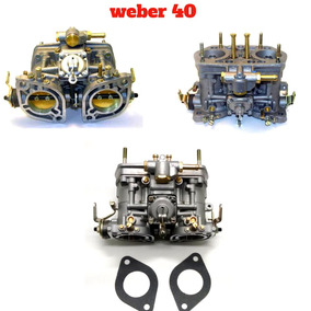 Carburador Opala 6 Cc Weber 40 Idf Novo Na Caixa
