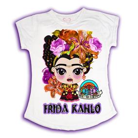 Playeras Halloween Playeras Dia D Muertos Celine Frida Kahlo