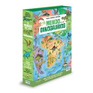 Libro + Rompecabezas Mundo Dinosaurios 200 Piezas Sassi