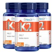 Vitamina K2 Mk-7 180 Cápsulas 500mg - Dr Lair