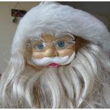 Bello Muñeco Santa Clous De Cuerda Para Navidad