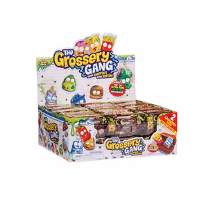 The Grossery Gang 30 Unidade Crusty Barra De Chocolate Dtc