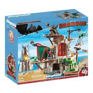 Playmobil 9243 Fortaleza De Berk Dragons Geobra