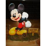 Centros De Mesa Disney Mikey Y Minnie!!! Fibrofacil