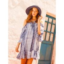 Vestido Kosiuko Samosir Blue