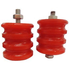 Coxim Lateral Poliuretano (pu) Para Motor Ap (kit 2 Peças)