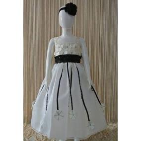 Vestido / Niña Presentación Princesa Color Bco Ver Nota