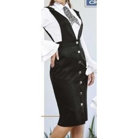 Cklass Vestido Overol Dama Corto Elagante Vestir Mod.007-68