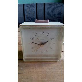 Reloj Antiguo Despertador Sears Reloj De Mesa Electrico