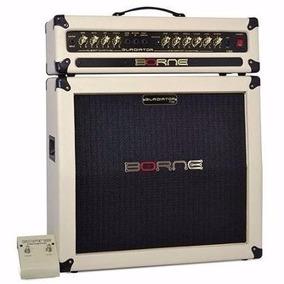 Amplificador Cabeçote Guitarra Borne Gladiator 1200 Creme