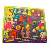 Polly Pocket - Fiesta De Cumpleaños De Polly - Envío Gratis