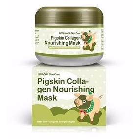Pigskin Mask Mascarilla Colageno 100% Natural Origen Animal