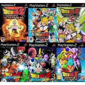 Dragon Ball Z Budokai Tenkaichi Coleccion Ps2 ( 6 Discos )