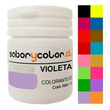 Colorante Gel Colores Surtidos 20 Gr Repostería Fiestaclub
