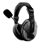 Auriculares Targa Gamer 40mm Micrófono Ps4 Pc Xbox Zoom Jmc