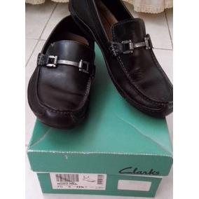 Zapatos Mocasin De Caballero. Marca Clarks. Talla 41 (8 1/2)