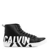 Tenis Feminino Calvin Klein Cano Alto Couro 100%original Pt