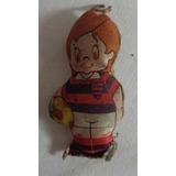 Flamengo Mascote Futebol Boneco Tecido