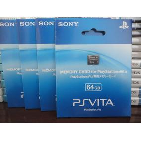 Cartão Memória 64gb Original Vita Psvita Memory Card 64 Gb