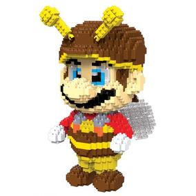 Figura Gigante En Miniblocks De Marios Bros Abeja
