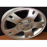 Rin Aluminio Optra 15 X 5.5 4x114 Color Plata