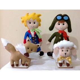 Pequeno Príncipe Em Feltro Kit 4 Personagens