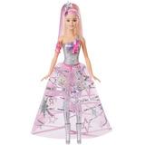 Muñeca Barbie Aventura Espacial Con Vestido Galáctico 30cm