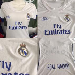 Playera Blusa Jersey Real Madrid Mujer Muy Sexy 2017