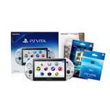 Consola Psvita Slim Wifi + 32gb Kit Funda / Mica Doble