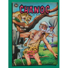 1966 Chanoc Aventuras De Mar Y Selva #349 Comic Herrerias