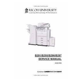 Manual De Servicio Ricoh Aficio Mp3500/mp4500 En Ingles