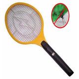 Raqueta Paleta Mata Mosca Mosquito Descarga Electrica Pila