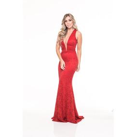 Vestido Longo Em Renda, Festa Madrinha Fh552818