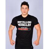 Combo 3 Unidades Camiseta Fitness Masculina Top Treino