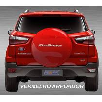 Capa De Step Rígido P/ Nova Ecosport Vermelho Arpoador