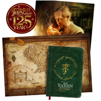 Livro J.r.r. Tolkien O Senhor Da Fantasia Capa Dura + Mapa