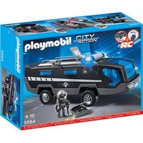 Playmobil Policía Auto Unidad Especial 5564 4 A 10 Años
