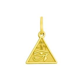 Pingente Olho De Hórus Em Ouro 18k 750 Pg052