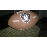 Bola De Futebol Americano Wilson Nfl Oficial Oakland Raiders