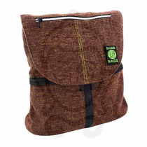 Mochila Dimebags The Hipster Original, De Fibras De Hemp.