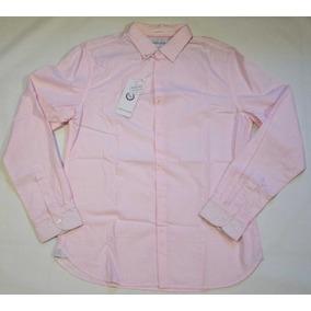 Camisa Demin & Flower M Slim Fit Rosa Cleotildes Closet