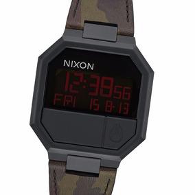 Reloj Nixon A9442255 Re-run Leather 38 Mm Acero Pvd