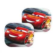 Cortina Parasol Auto Plegable Niños Disney Cars Carrera