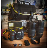 Nikon D7100 + Extras Nueva