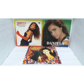 Lps Daniela Mercury / 3 Discos / Por Apenas...