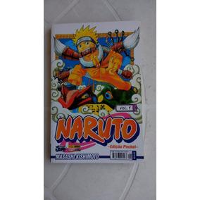 Naruto Nº 1 - Edição Pocket - Editora Panini - 2010