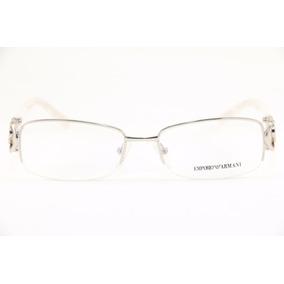 Armação Feminina Óculos De Grau Empório Armani 681 Original