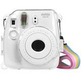 Estuche Fujifilm Instax Mini 9, 8 Pvc Transparente Arcoiris