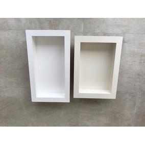 Nicho De Porcelanato Branco 60x30x10